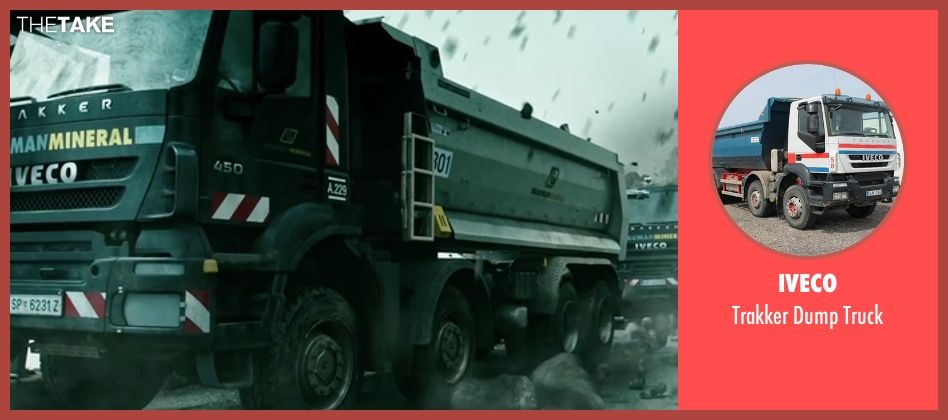 Iveco truck from Point Break seen with Unknown Actor (Unknown Character)