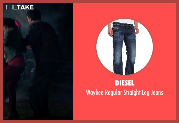 Diesel blue jeans from Poltergeist seen with Unknown Actor (Unknown Character)