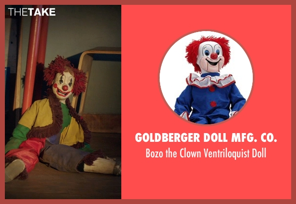 Goldberger Doll Mfg. Co. doll from Poltergeist seen with Unknown Actor (Unknown Character)