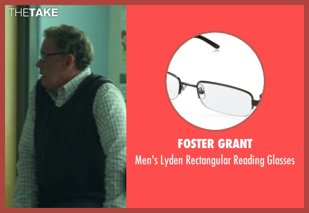 Foster Grant black glasses from Project Almanac seen with Unknown Actor (Unknown Character)