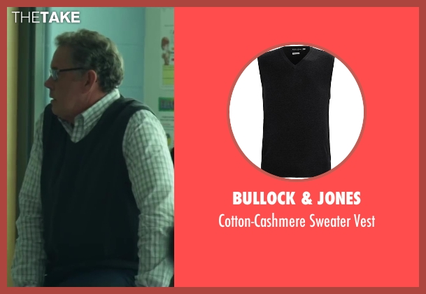 Bullock & Jones black vest from Project Almanac seen with Unknown Actor (Unknown Character)