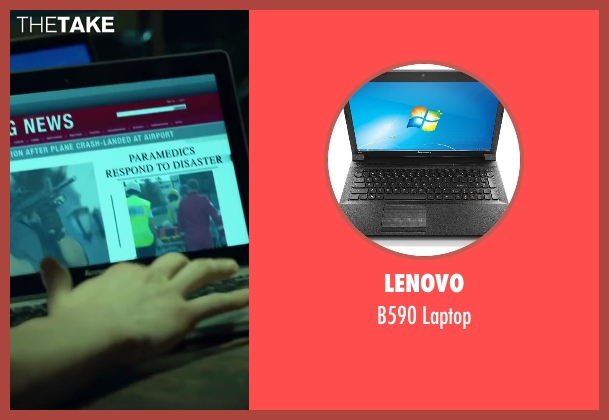 Lenovo laptop from Project Almanac seen with Unknown Actor (Unknown Character)