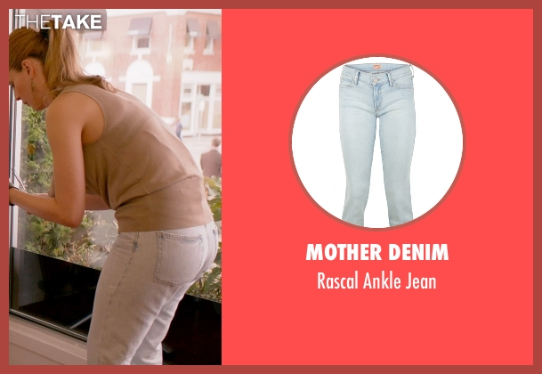 Mother Denim blue jean from Ricki and the Flash seen with Unknown Actor (Unknown Character)