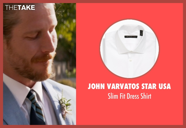 John Varvatos Star Usa white shirt from Ricki and the Flash seen with Unknown Actor (Unknown Character)