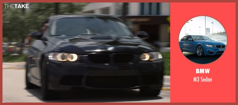 BMW sedan from Ride Along 2 seen with Unknown Actor (Unknown Character)