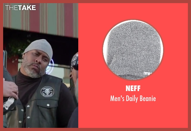Neff gray beanie from Ride Along seen with Unknown Actor (Unknown Character)