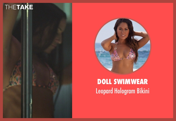 Doll Swimwear pink bikini from Ride Along seen with Unknown Actor (Unknown Character)