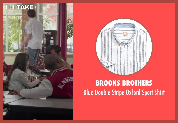 Brooks Brothers white shirt from Ride Along seen with Unknown Actor (Unknown Character)