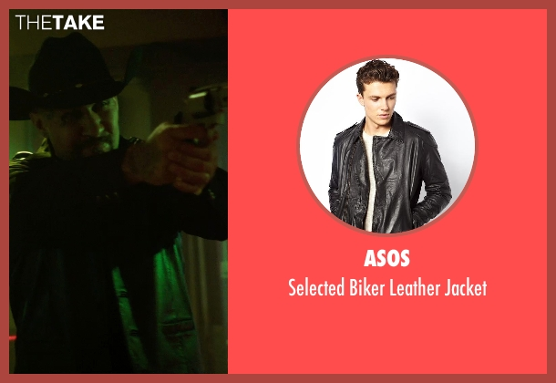 ASOS black jacket from Sabotage seen with Unknown Actor (Unknown Character)
