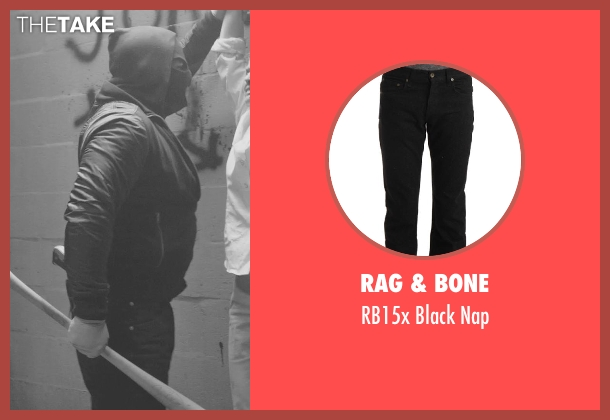 RAG & BONE black nap from Sabotage seen with Unknown Actor (Unknown Character)