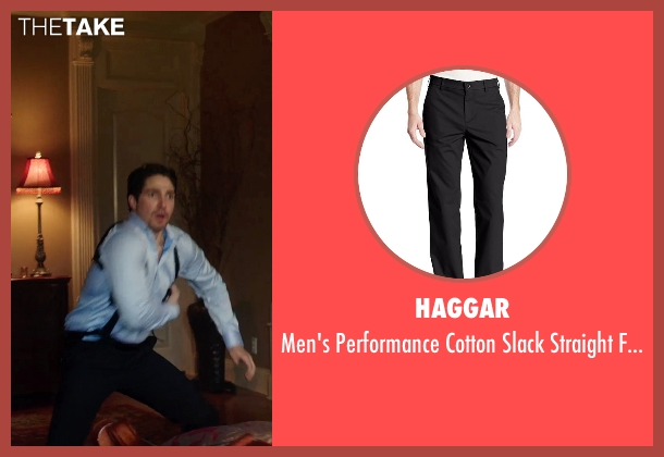 Haggar black pant from Sabotage seen with Unknown Actor (Unknown Character)
