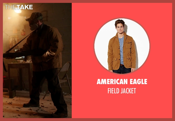 American Eagle brown jacket from Sabotage seen with Unknown Actor (Unknown Character)