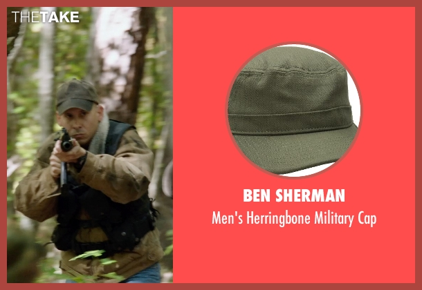 Ben Sherman green cap from Sabotage seen with Unknown Actor (Unknown Character)
