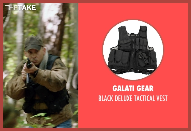 GALATI GEAR vest from Sabotage seen with Unknown Actor (Unknown Character)