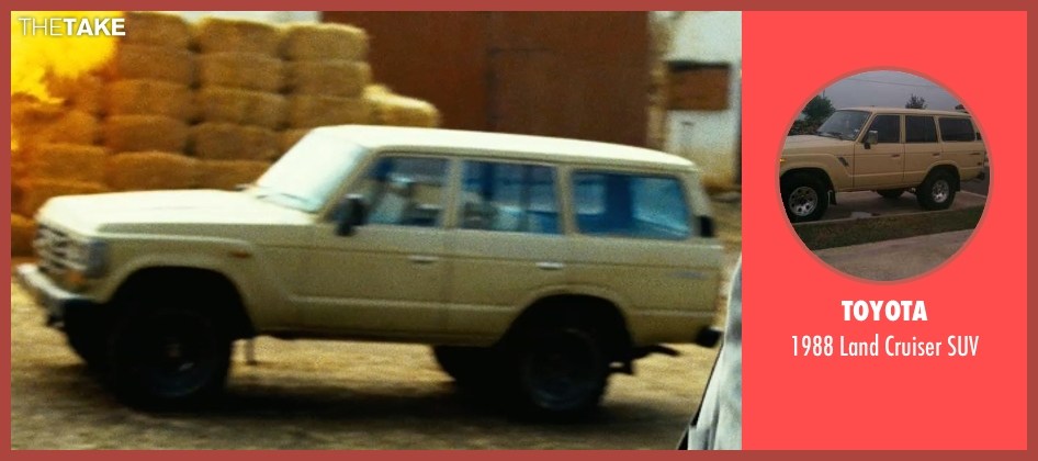 Toyota suv from Safe House seen with Unknown Actor (Unknown Character)
