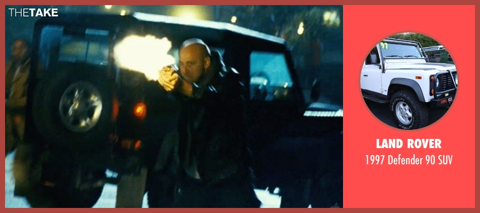 Land Rover suv from Safe House seen with Unknown Actor (Unknown Character)
