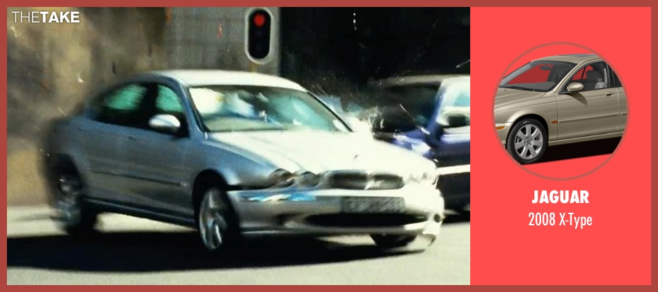 Jaguar x-type from Safe House seen with Unknown Actor (Unknown Character)