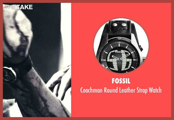 Fossil silver watch from Savages seen with Unknown Actor (Unknown Character)