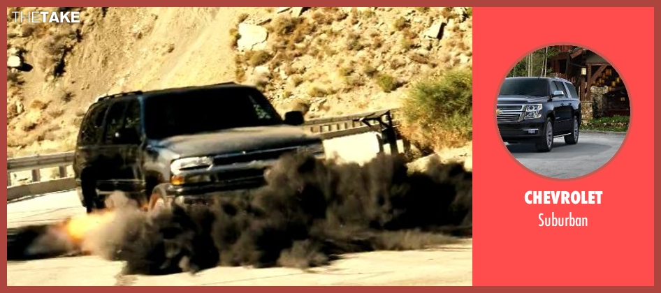 Chevrolet suburban from Savages seen with Unknown Actor (Unknown Character)