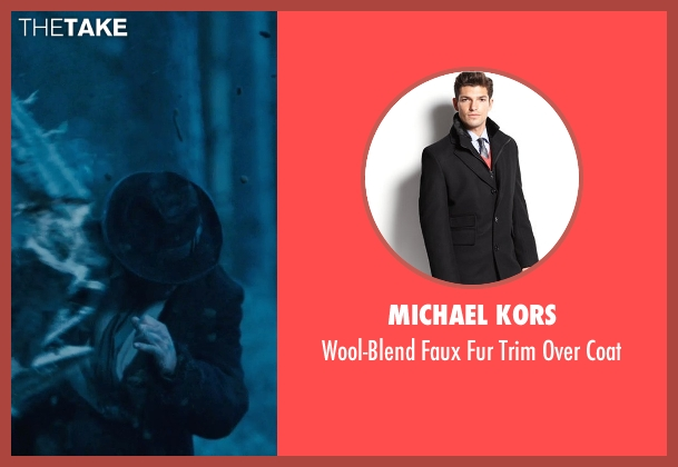 Michael Kors black coat from Sherlock Holmes: A Game of Shadows seen with Unknown Actor (Unknown Character)