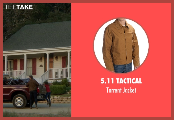 5.11 Tactical brown jacket from Sinister 2 seen with Unknown Actor (Unknown Character)