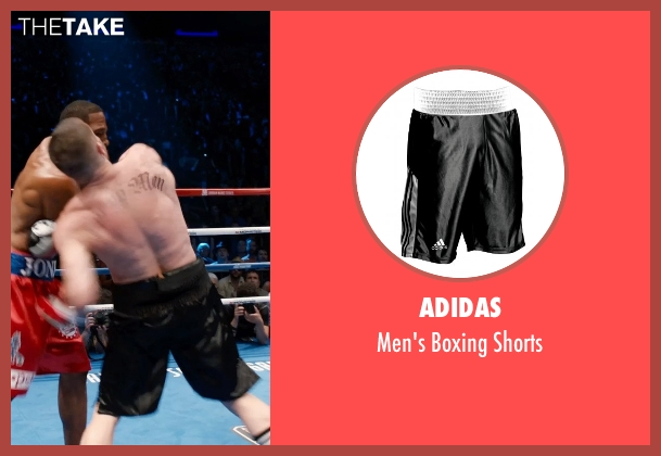 Adidas black shorts from Southpaw seen with Unknown Actor (Unknown Character)