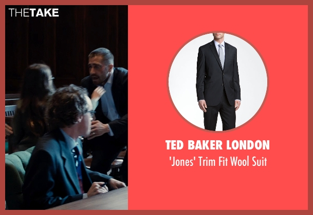 Ted Baker London black suit from Southpaw seen with Unknown Actor (Unknown Character)