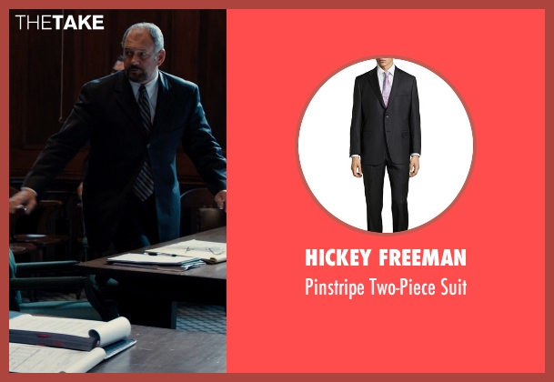 Hickey Freeman black suit from Southpaw seen with Unknown Actor (Unknown Character)