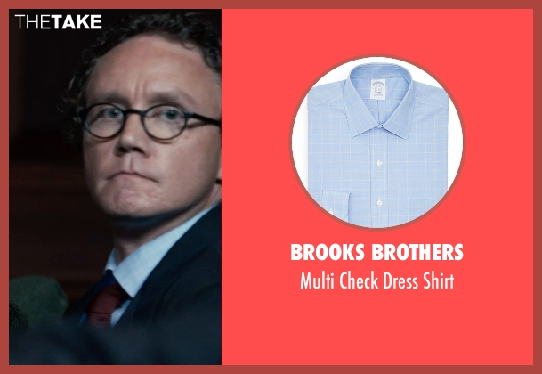 Brooks Brothers blue shirt from Southpaw seen with Unknown Actor (Unknown Character)