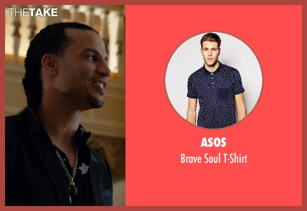 Asos blue t-shirt from Southpaw seen with Unknown Actor (Unknown Character)