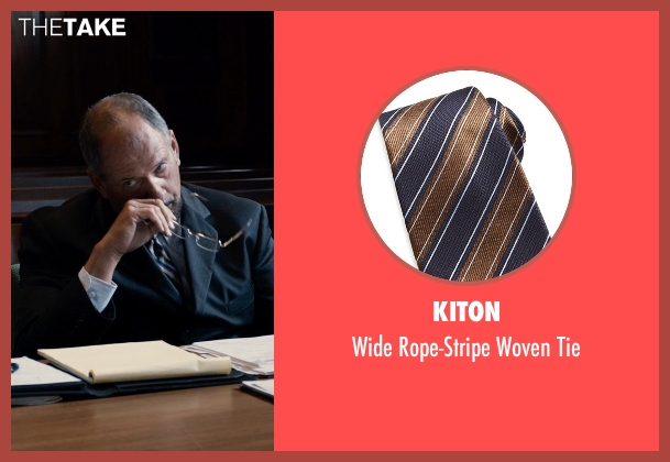 Kiton brown tie from Southpaw seen with Unknown Actor (Unknown Character)