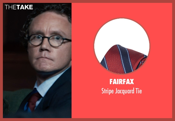 Fairfax red tie from Southpaw seen with Unknown Actor (Unknown Character)