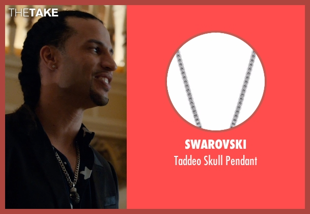 Swarovski silver pendant from Southpaw seen with Unknown Actor (Unknown Character)