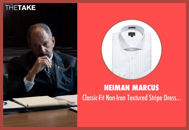 Neiman Marcus white shirt from Southpaw seen with Unknown Actor (Unknown Character)