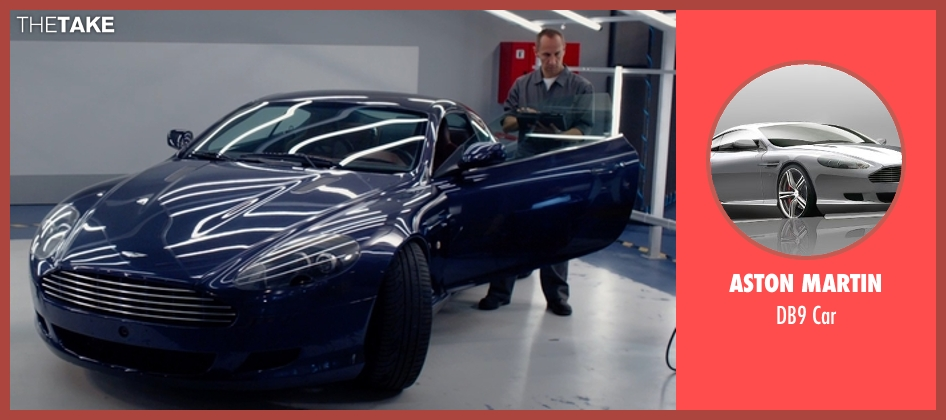 Aston Martin car from Spy seen with Unknown Actor (Unknown Character)