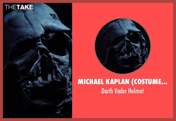 Michael Kaplan (Costume Designer) helmet from Star Wars: The Force Awakens seen with Unknown Actor (Unknown Character)