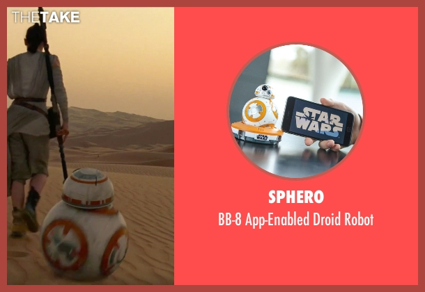 Sphero robot from Star Wars: The Force Awakens seen with Unknown Actor (Unknown Character)