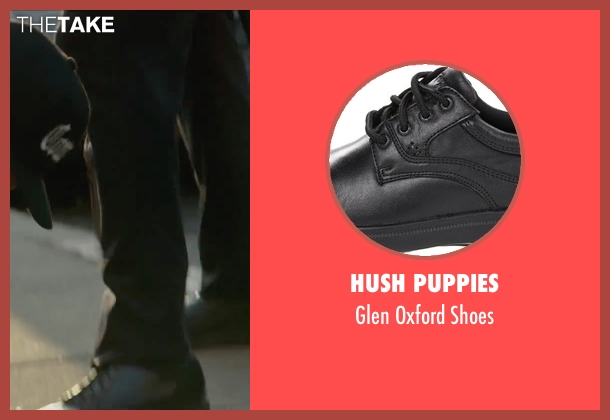 Hush Puppies black shoes from Straight Outta Compton seen with Unknown Actor (Unknown Character)