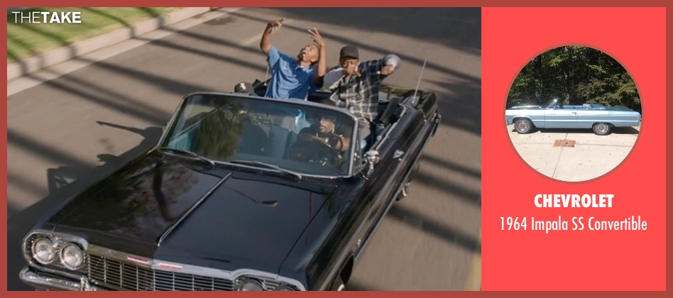 Chevrolet convertible from Straight Outta Compton seen with Unknown Actor (Unknown Character)