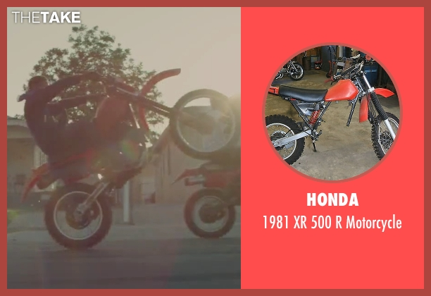 Honda motorcycle from Straight Outta Compton seen with Unknown Actor (Unknown Character)
