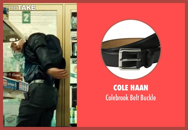 Cole Haan black buckle from Taken 3 seen with Unknown Actor (Unknown Character)