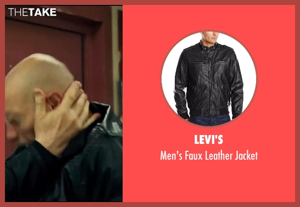 Levi's black jacket from Taken 3 seen with Unknown Actor (Unknown Character)