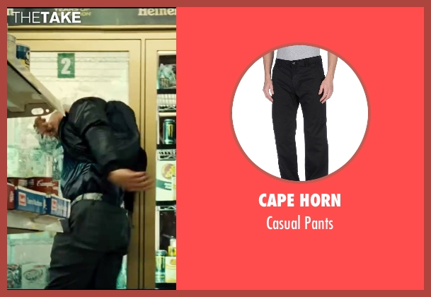 Cape Horn black pants from Taken 3 seen with Unknown Actor (Unknown Character)