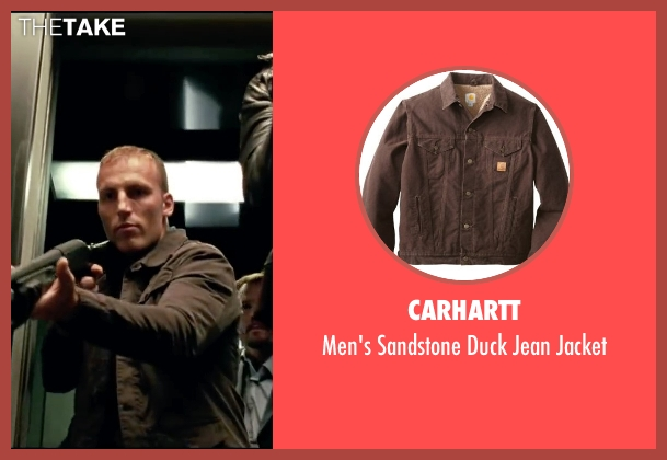 Carhartt brown jacket from Taken 3 seen with Unknown Actor (Unknown Character)