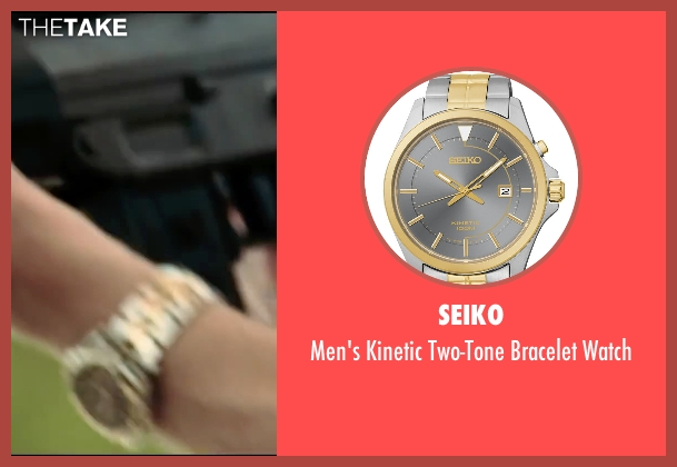 Seiko gold watch from Taken 3 seen with Unknown Actor (Unknown Character)