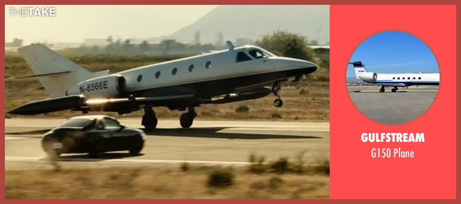 Gulfstream plane from Taken 3 seen with Unknown Actor (Unknown Character)