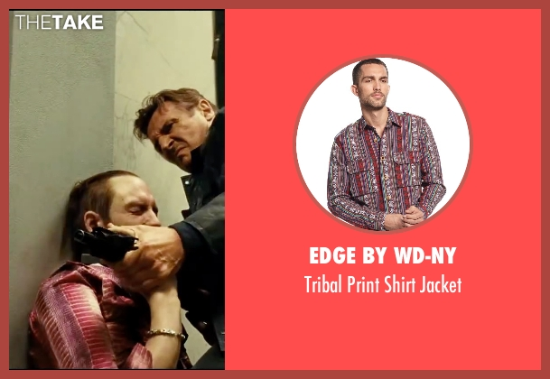 Edge By Wd-ny red jacket from Taken 3 seen with Unknown Actor (Unknown Character)
