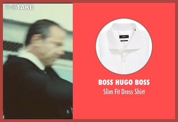 Boss Hugo Boss white shirt from Taken 3 seen with Unknown Actor (Unknown Character)