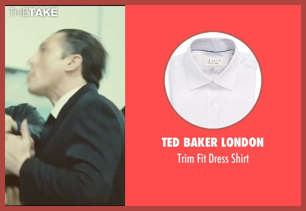 Ted Baker London white shirt from Taken 3 seen with Unknown Actor (Unknown Character)