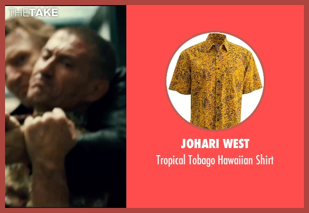 Johari West yellow shirt from Taken 3 seen with Unknown Actor (Unknown Character)